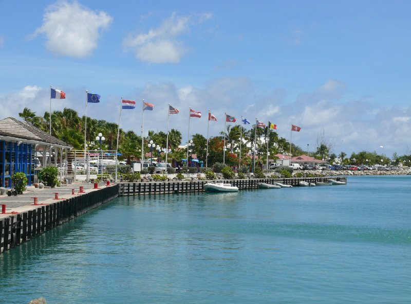 Pictures of the harbour of Marigot, Saint Martin, Netherlands Antilles