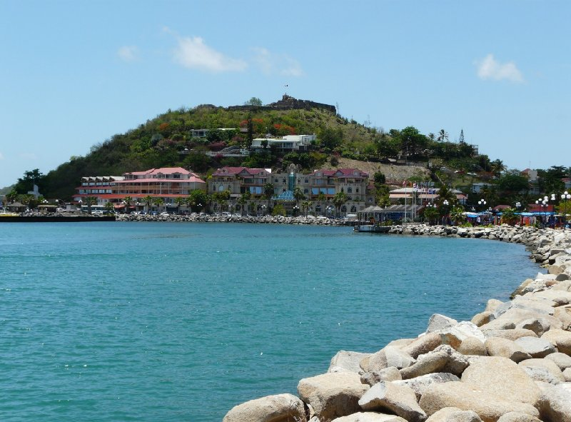 Photos of the harbour, Marigot, Philipsburg Netherlands Antilles