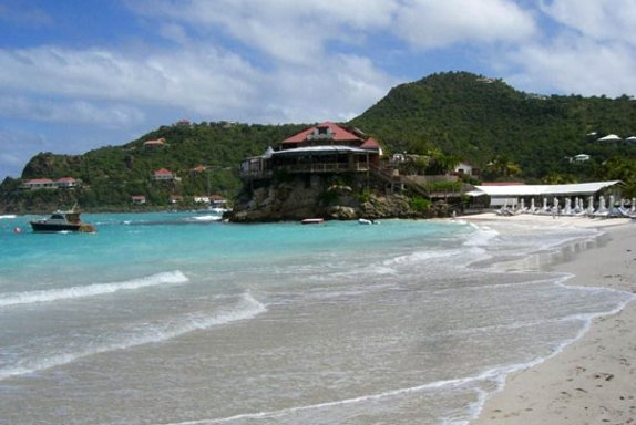 Eden Rock Hotel Beach, St Barthelemy, Saint Barthelemy