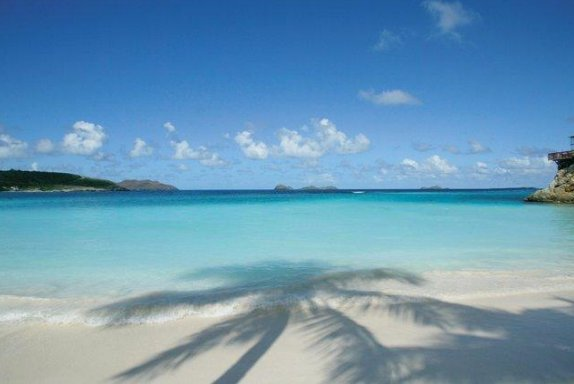 Beach holiday, Saint Barths, Saint Barthelemy