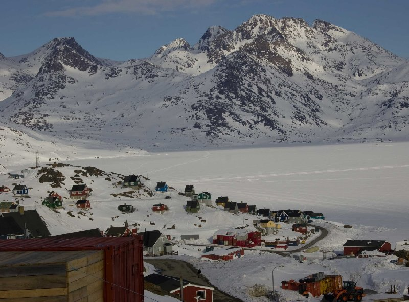 Landscape in the Ammassalik region, Greenland