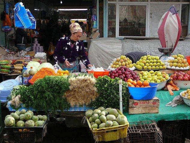 Market pictures of Dushanbe, Tajikistan, Tajikistan