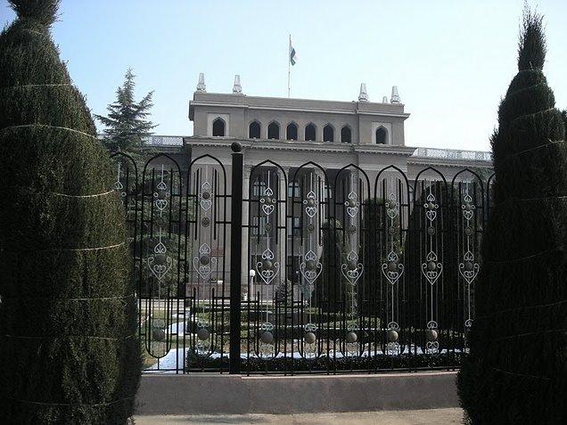 Dushanbe government building, Tajikistan, Tajikistan