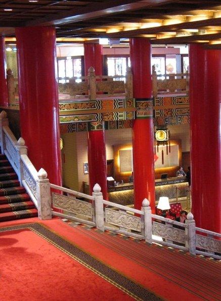 Taipei City Taiwan Pictures inside the Grand Hotel, Taipei
