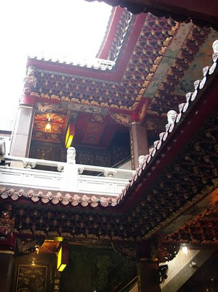 Pictures of the Qingshui Temple in Taipei, Taiwan, Taiwan