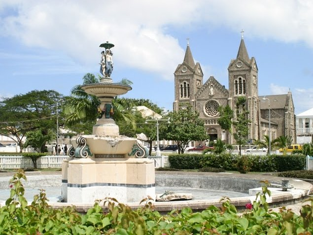 Independence Square in Basseterre, Saint Kitts and Nevis, Saint Kitts and Nevis