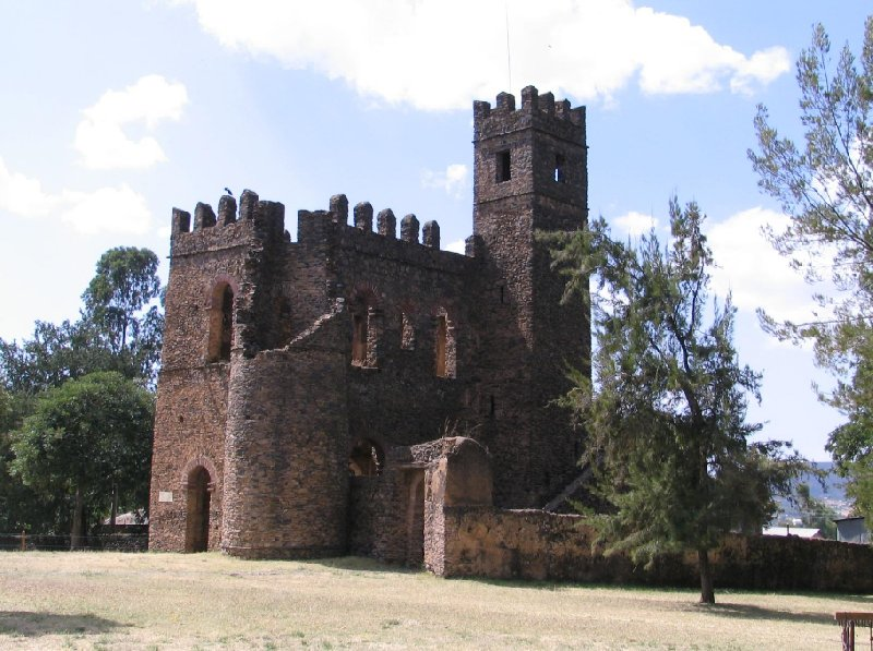 Pictures of the ruins in Gondar, Ethiopia, Ethiopia