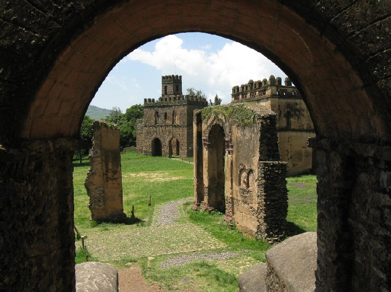 Gondar Ethiopia Photos of the ruins in Gondar, Ethiopia