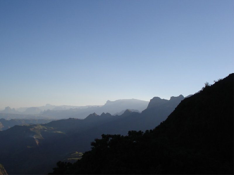 Panoramic photos of Simien Mountains NP, Ethiopia, Ethiopia