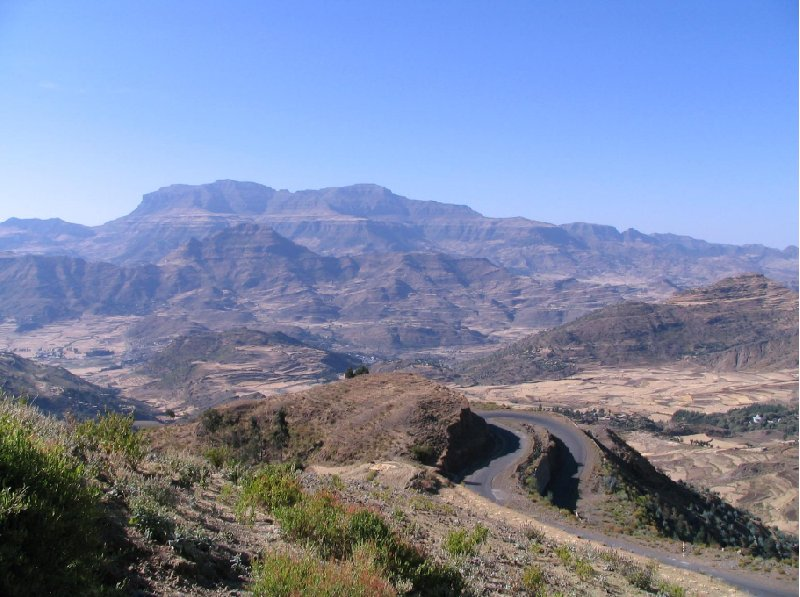 Panoramic picturs of Simien Mountains NP, Ethiopia, Ethiopia