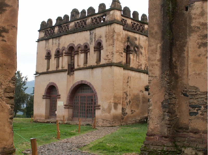 Gondar Ethiopia Photos of Fasilides Castle in Gondar, Ethiopia