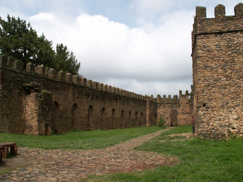 Pictures of Fasilides Castle in Gondar, Ethiopia, Ethiopia