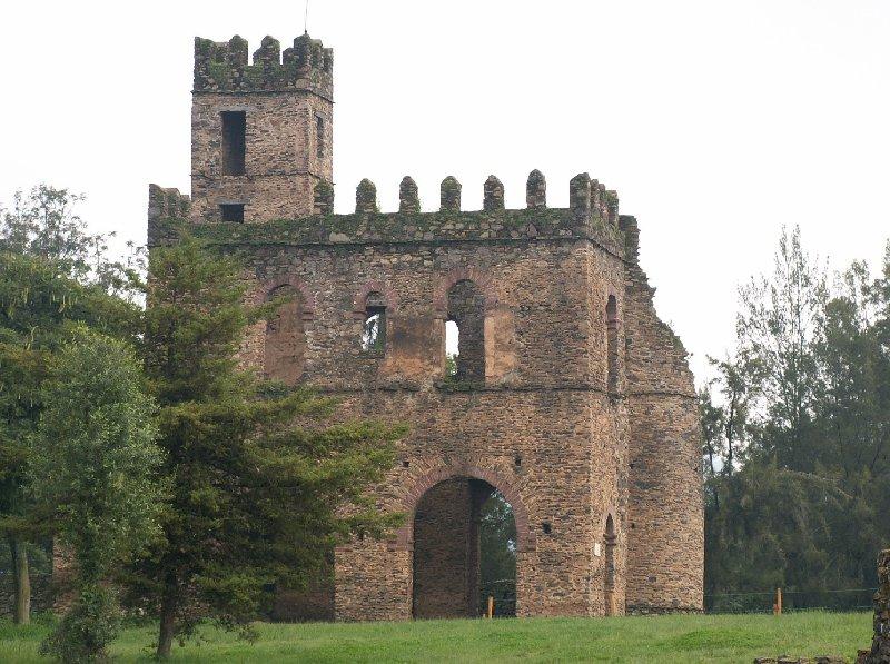 Fasilides Castle in Gondar, Ethiopia, Ethiopia