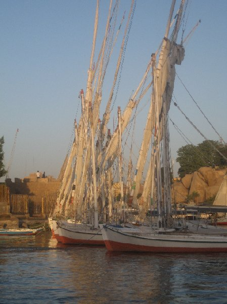 Boats in the river, Sudan, Sudan