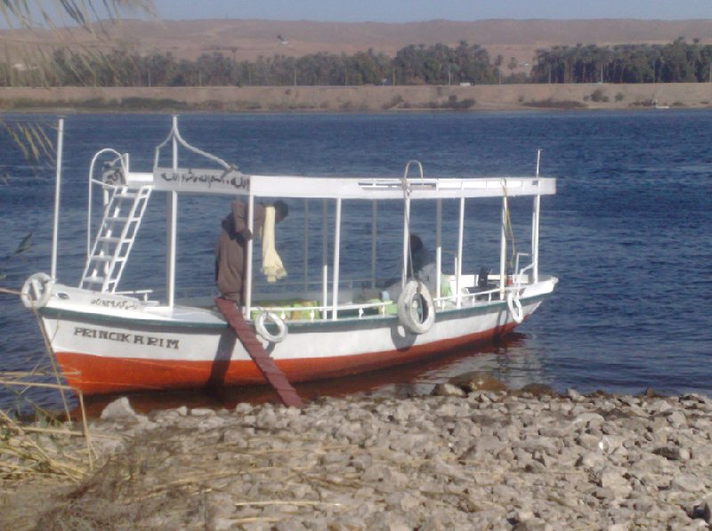 Boat trip over the River Nile, Sudan, Sudan
