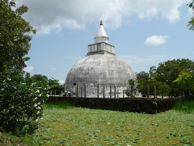 Pictures of the Buddhist dagoba at Tissamaharama, Sri Lanka, Sri Lanka