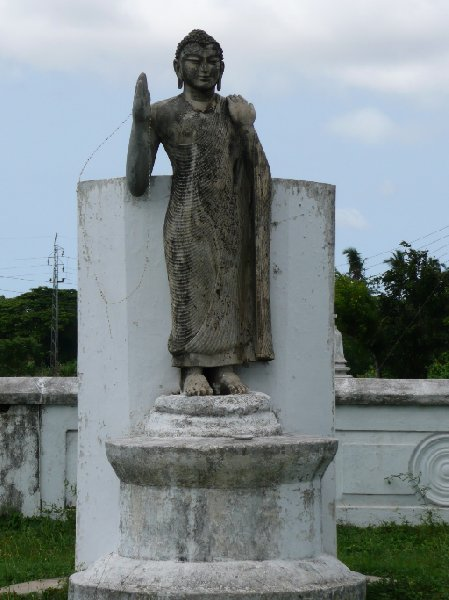 Pictures of the Buddhist statues in  Tissamaharama, Sri Lanka, Sri Lanka