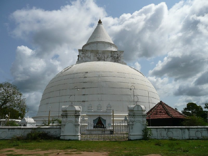 Photos of the Buddhist dagoba at Tissamaharama, Sri Lanka, Sri Lanka