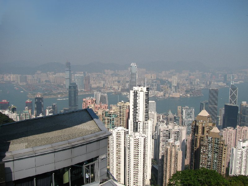 Pictures of Hong Kong from The Peak , Hong Kong