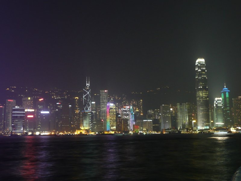 Hong Kong by night pictures, Hong Kong