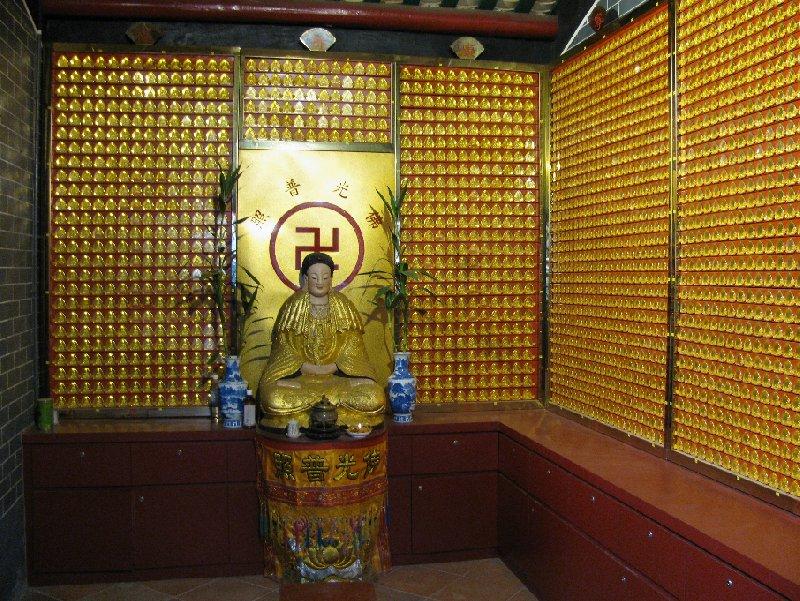 Hong Kong Hong Kong Temple near the station of Hong Kong