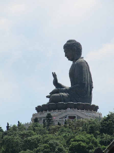 The statue of the Tian Tan Buddha, Hong Kong, Hong Kong Hong Kong