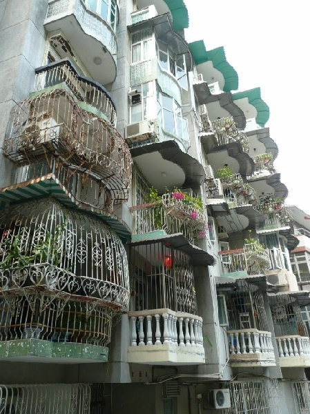Photos of residential area in Macau, Macao