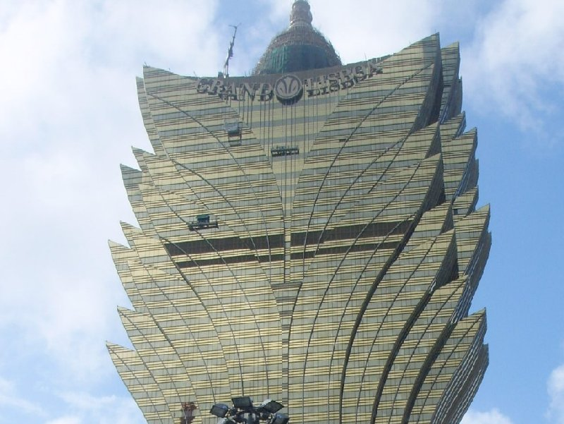 Casino building in Macau, China, Macao