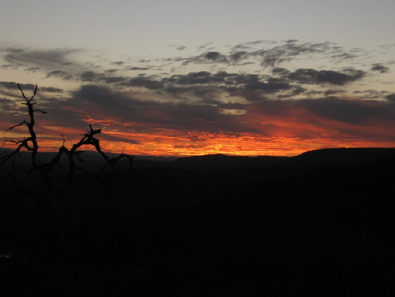 Sunset Pictures of the Mkhaya Game Reserve, Swaziland, Magomba Swaziland