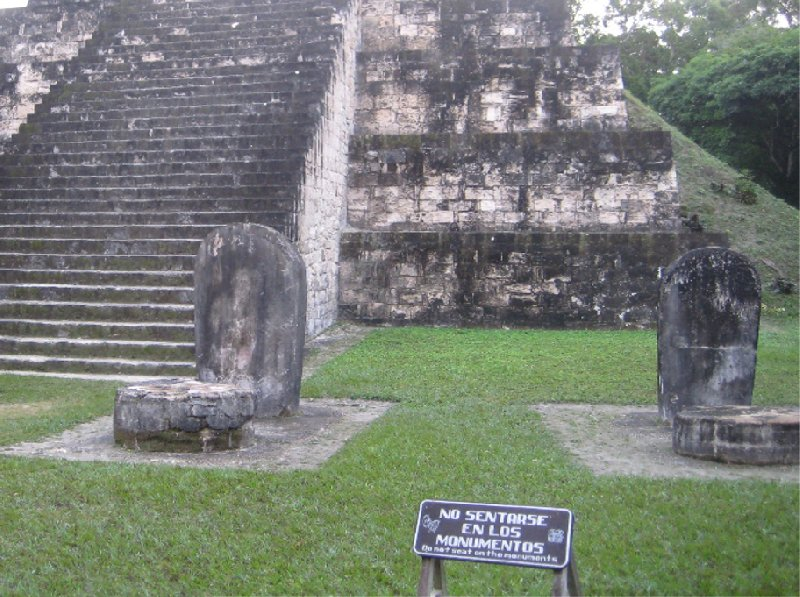 Photos of the Mayan Ruins of the Tikal National Park, Guatemala, Arenal Guatemala