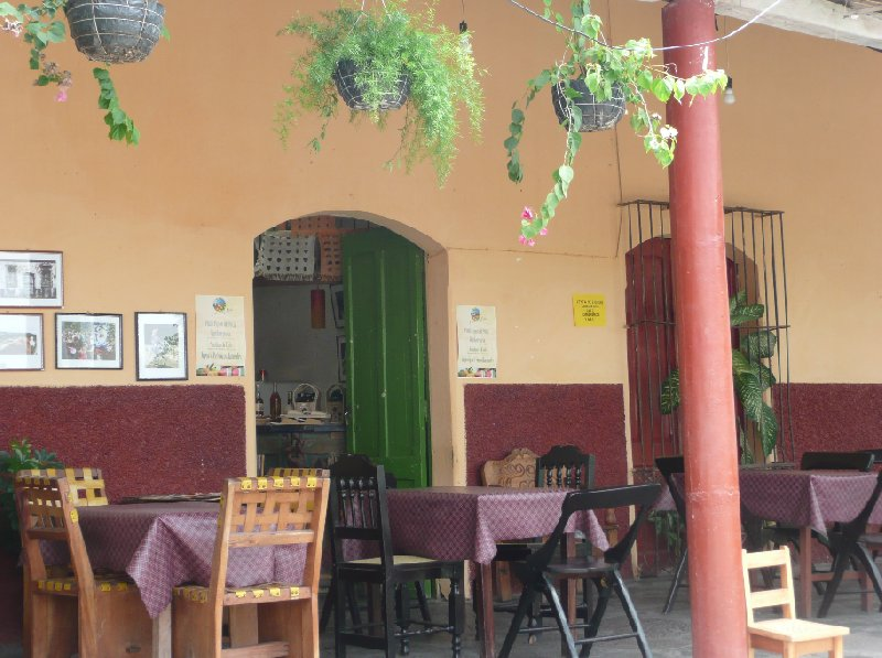 Spanish bar in Suchitoto, El Salvador, El Salvador