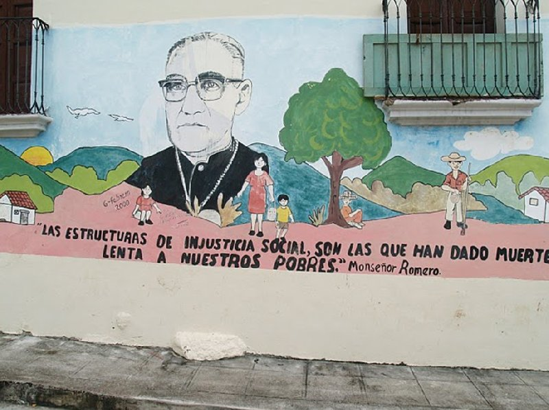 Murals in Suchitoto, Central El Salvador, El Salvador