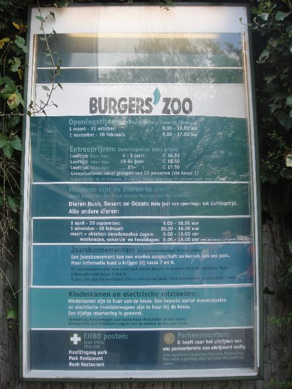 Photo Pictures of the Arnhem Zoo Holland writings