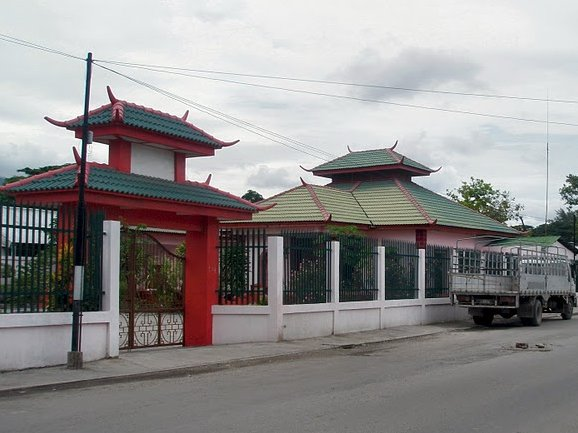 Chinese temple in Dili, Timor Leste, East Timor