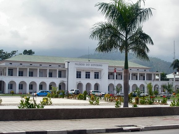 Pictures of the Palacio de Governo in Dili, East Timor, East Timor