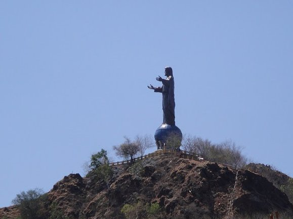 Picture of the Christ Statue in Dili, East Timor, East Timor