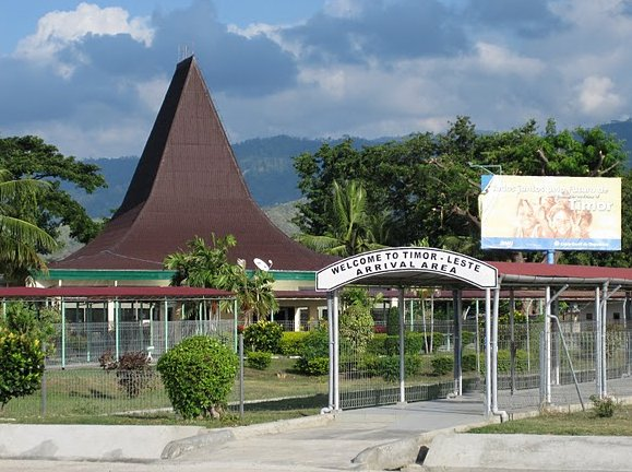 Pictures of Dili airport, East Timor, East Timor