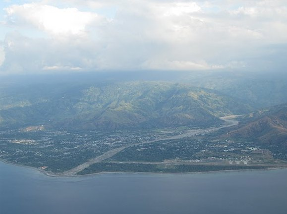 Arriving in Dili, the capital of Timor Leste, Dili East Timor