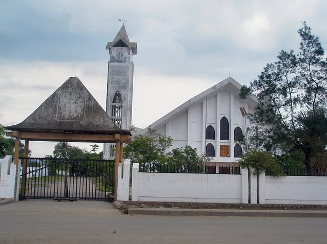The Church of the Immaculate Conception in Dili, East Timor, East Timor