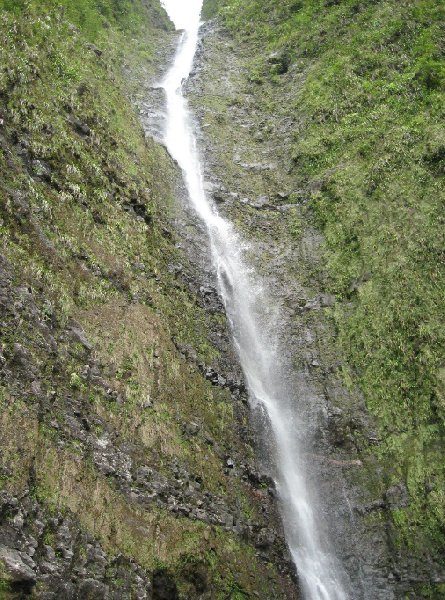 Pictures of the Biberon Falls on Reunion Island, Reunion