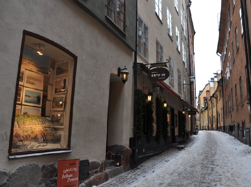 Christmas Holiday in Stockholm Sweden Picture
