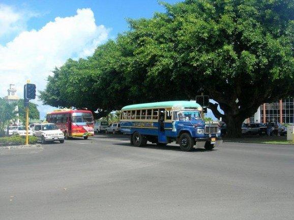 Samoa trip from Upolu to Savaii island Apia Travel