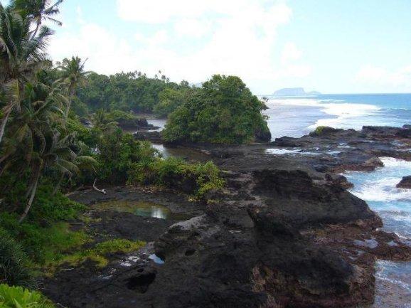 Samoa trip from Upolu to Savaii island Apia Trip Photo