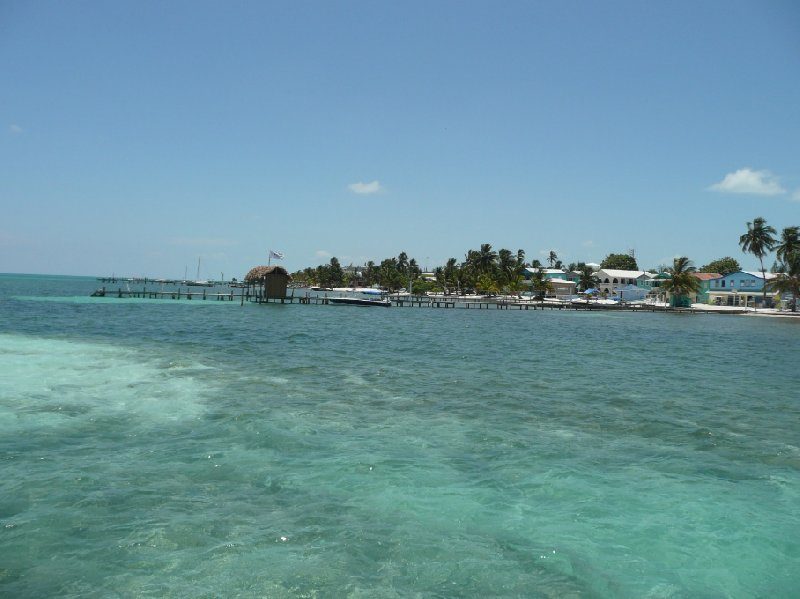Photo From Belize City to Caye Caulker Island direction