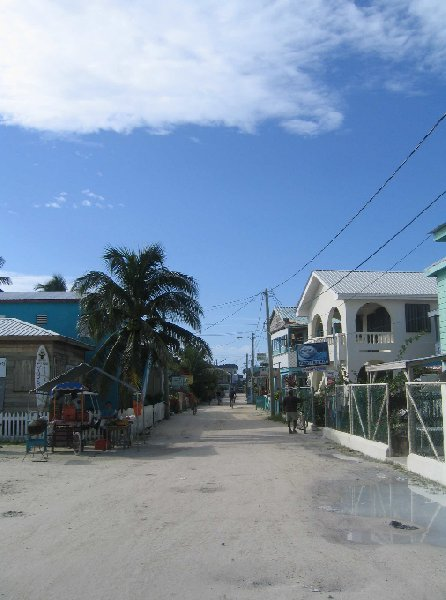Photo From Belize City to Caye Caulker Island looked