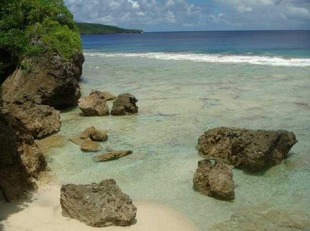 The Landscapes of Niue Island Alofi Diary Photo