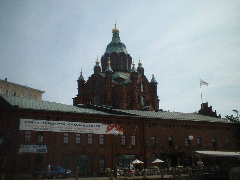 Holiday in the Helsinki city center Finland Travel Photos