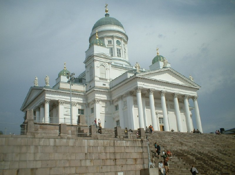 Holiday in the Helsinki city center Finland Photo Gallery