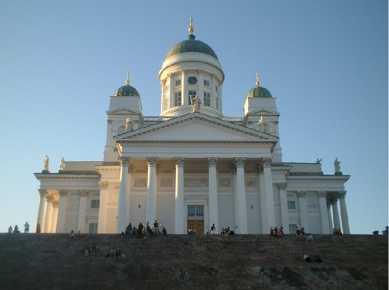 Holiday in the Helsinki city center Finland Diary