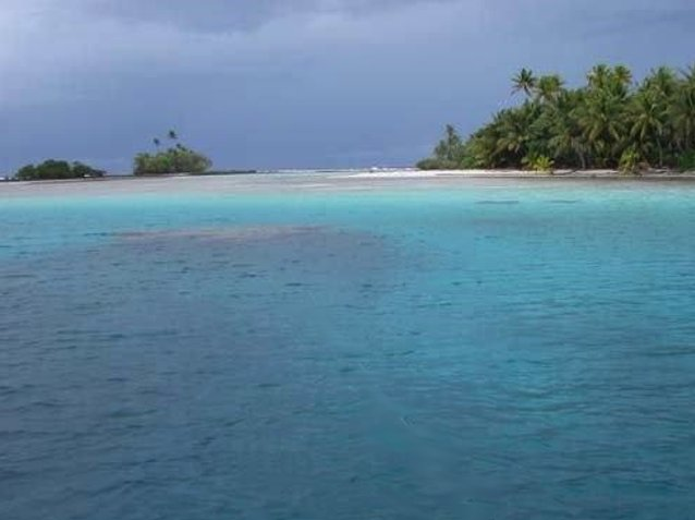 Photo Nukunonu Tokelau islands group island